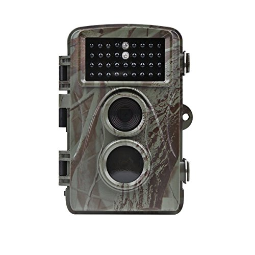Distianert 12MP 720P Infrared Game&Trail Camera Deer Camera Low Glow Night Vision 65ft Waterproof IP56 with 34pcs 850nm IR LEDs 2 Year Warranty - Cam F T