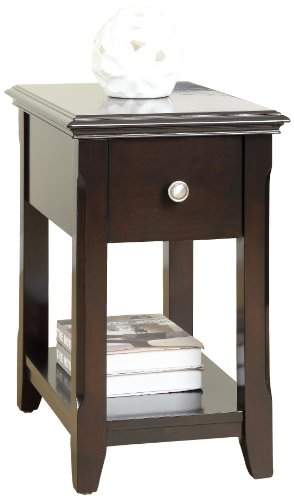 William's Home Furnishing Fulton Side Table, Cherry