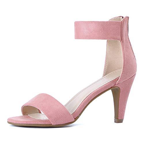 Guilty Shoes - Elysa-1 Mauve Suede, 8.5