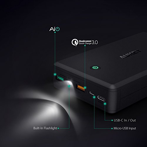 AUKEY USB C 30000mAh power Bank transportable Charger having 30W power delivery rapid payment 30 Battery Pack for Nintendo Switch phones Tablets and a lot more External Battery Packs