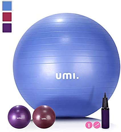 UMI. Essentials Pelota de Ejercicio Gym Ball para Fitness, Yoga ...