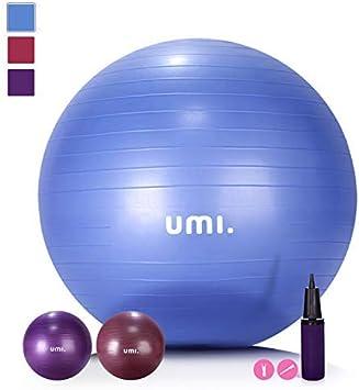 UMI. Essentials Pelota de Ejercicio Gym Ball para Fitness, Yoga ...