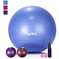 UMI. Essentials Pelota de Ejercicio Gym Ball para Fitness, Yoga, Pilates, Embarazo y Sentarse,65 or 75 cm