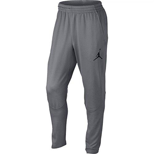 Nike Mens Jordan 360 Fleece Tapered Sweatpants Cool Grey/Black 808691-065 Size X-Large
