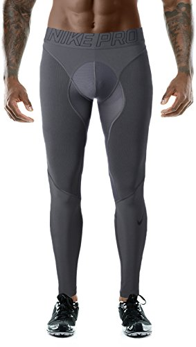 NIKE Pro Hyper Men's Compression Tights Dri-Fit Gray Size XXL Nike Lycra Shorts