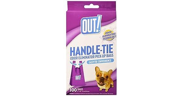 Amazon.com: Out. easy-tie Mango Pet bolsas de basura, bolsas ...