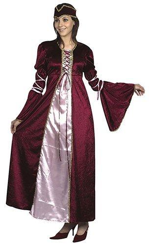 Tudor Renaissance Princess Ladies Fancy Dress Costume