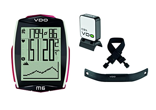 VDO M6 Bicycle Computer Digital Cycling Wireless with Heart Rate (Cadence Ready) by VDO (Image #6)
