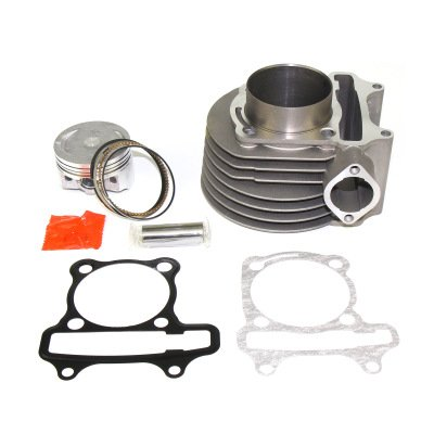 Chanoc 58.5mm 155cc Big Bore Kit for GY6 125cc 150cc Engine 152QMI 157QMJ Engine