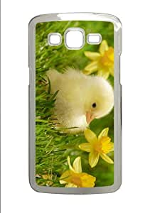 DIY case little chick PC Transparent case/cover for Samsung Galaxy Grand 2/7106