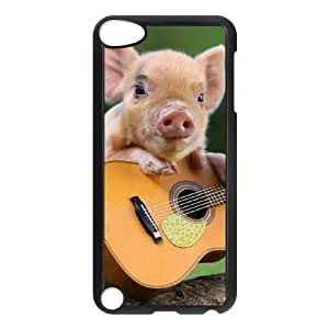 LZHCASE Design Phone Case Little Pig For Ipod Touch 5 [Pattern-1]