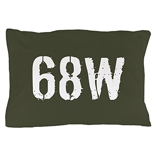 (CafePress U.S. Army: 68W Combat Medic (Military Standard Size Pillow Case, 20