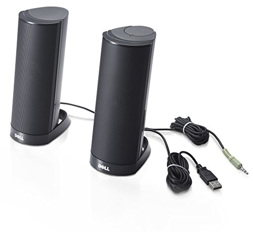 DELL AX210 Speaker for PC - Black