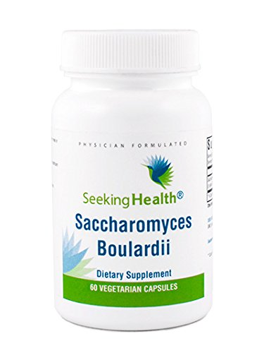Saccharomyces Boulardii | Microbial Support Probiotic Supplement | 5 Billion CFU per Capsule | 60 Vegetarian Capsules | Seeking Health