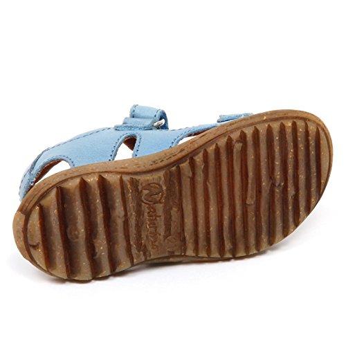 Bimbo Effetto Baby E2486 Vintage Sandalo Naturino Shoe Boy Azzurro Azur Scarpe aw7OgXEq