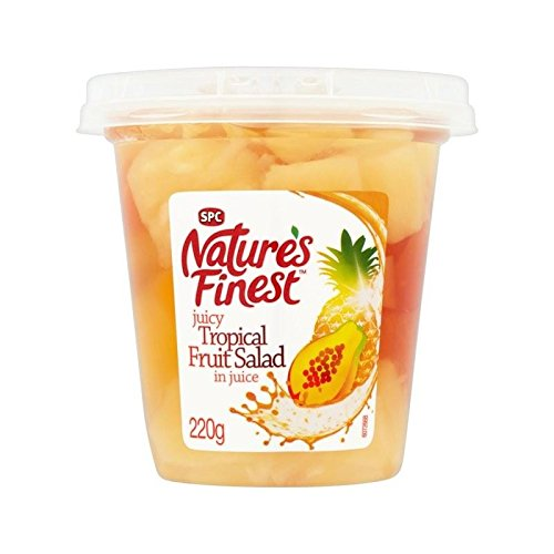 Nature's Finest Tropical Fruit Salad 220g - Pack of 4