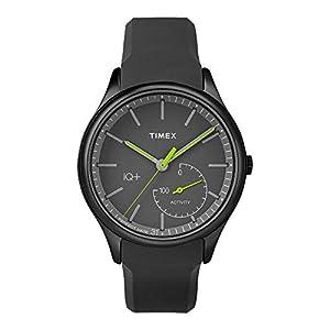 Timex Men's IQ+ Move Activity Tracker Silicone Strap Smart Watch