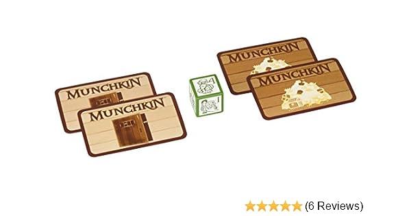 First Order Account 5536BSJG Steve Jackson Games Munchkin Jolly Jumbo D6 Card Game Green Esdevium Games