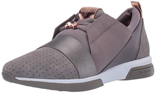 (Ted Baker Women's Cepa Sneaker, Grey, 6.5 Regular US)