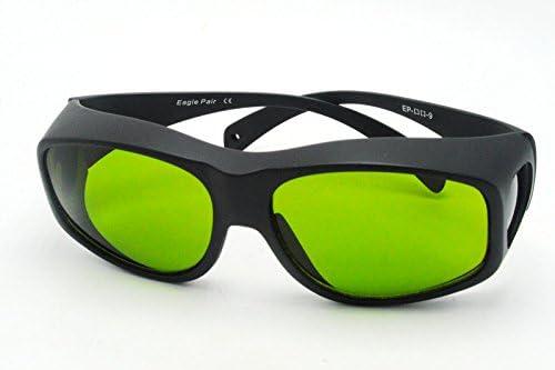 YAG 190nm-470nm UV 800nm-1700nm OD5 + 808nm IRレーザー保護ゴーグル安全メガネ