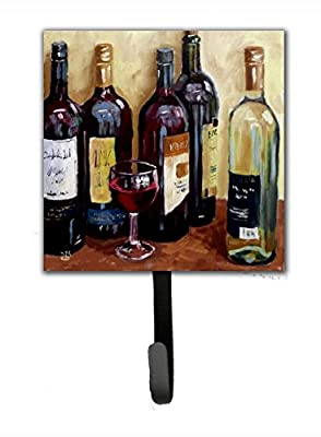 Caroline's Treasures SDSM0118SH4 Wine By David Smith Leash Or Key Holder, Small, Multicolor