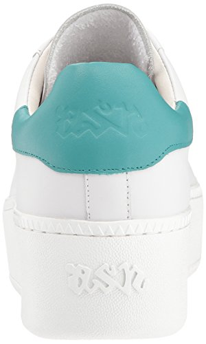 As-cult Sneaker Wit / Turquoise Van Aswver