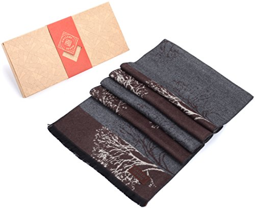 Gallery Seven Winter Scarfs for Women - Fashion Womens Winter Scarves - Elegant Gift Wrapped - Smoky Forest by Gallery Seven (Image #2)