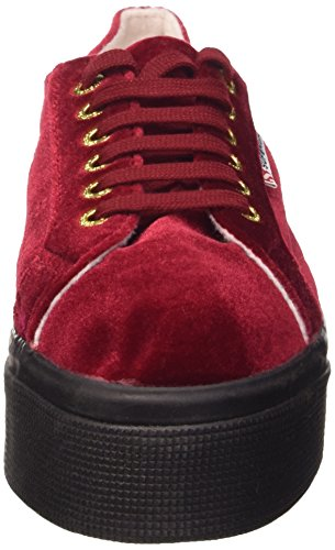 Rouge Chaussures Superga a77 Dk Red 2790 Femme velvetw 8wFwI