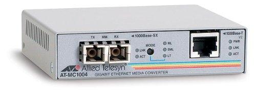 Allied Telesis AT MC1004 - Media Converter - 1000Base-SX, 1000Base-T - RJ45 - SC Multi-mode - External - Up To 1800' - 850 Nm (085038) Category: Transceivers and Media Converters from Allied Telesis
