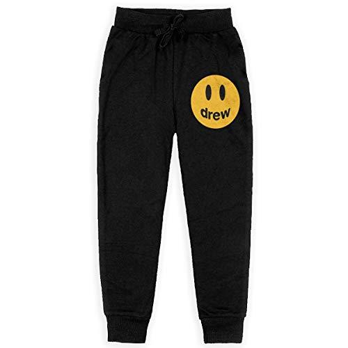 Dxqfb Justin Bieber Drew Jongens Sweatpants, Joggingbroek voor jongens