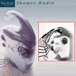 Park Avenue Waterproof Shower Radio