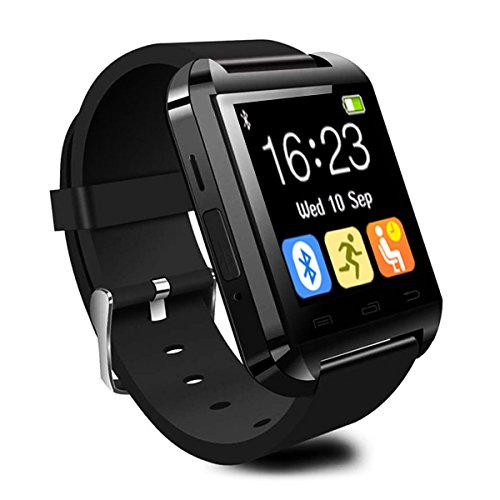 CHEREEKI Smartwatch Reloj Inteligente Bluetooth Smart Watch con la Pantalla Táctil Compatible con Android Smartphones Samsung HTC LG Huawei Sony Reloj ...