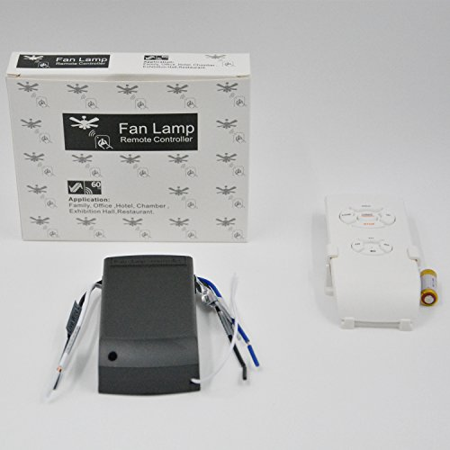 Belecome Universal Ceiling Fan Lamp Remote Controller Kit