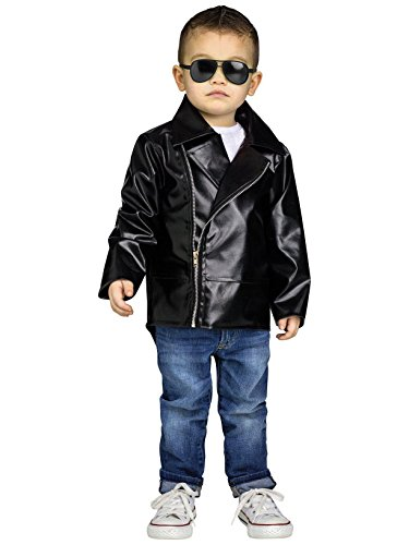 Fun World Rock 'N' Roll Toddler Costume, Large 3T-4T, -