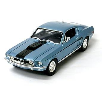 amazon フォード 1968 マスタング gt コブラ ジェット 青 blue 1
