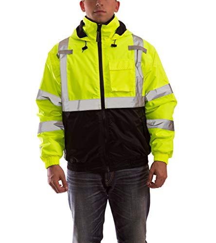 (Bomber Ii High Visibility Waterproof Jacket, Yellow,)
