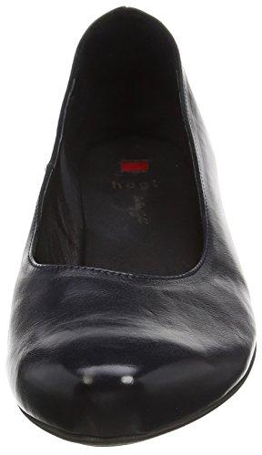 Högl 0- 12 4200 - zapatos de tacón cerrados de cuero mujer azul - Blau (3000)