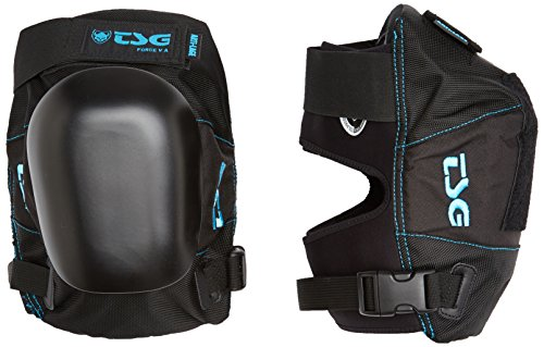 (TSG - Kneepad Force V A Pads for Skateboard (Black, L))