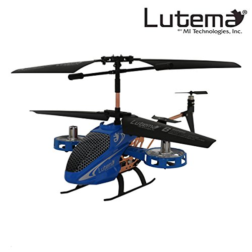 Lutema Avatar Hovercraft 4CH Remote Control Helicopter, Blue from Lutema
