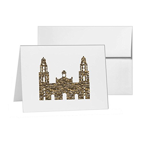 Metropolitan Cathedral - Metropolitan Cathedral Of Mexico City Spain Mexico Money, Blank Card Invitation Pack, 15 cards at 4x6, with White Envelopes, Item 987260