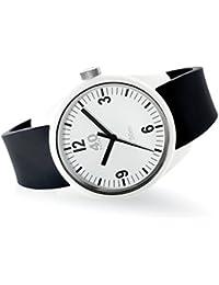Men's 'BASIC' Quartz Plastic and Silicone Casual Watch, Color:Black (Model: 40N2.2.1M)