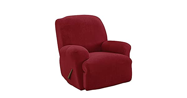 Amazon.com: Sure Fit Stretch Pique Sillón Reclinable ...