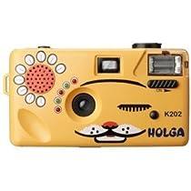 Holga K-202 Orange Nya-Nya Cat 35mm Camera