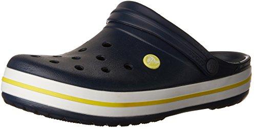 Crocs, Damen Clogs & Pantoletten  blau Marineblau/Gelb