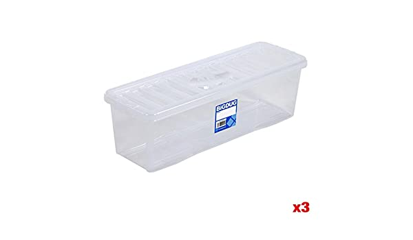 BiGDUG Wham Unidad de CD o DVD Caja de Almacenamiento de plástico Transparente útil Casa soluciones de Unidades de Almacenamiento, Pack of 3 - CD Clear Boxes: Amazon.es: Hogar