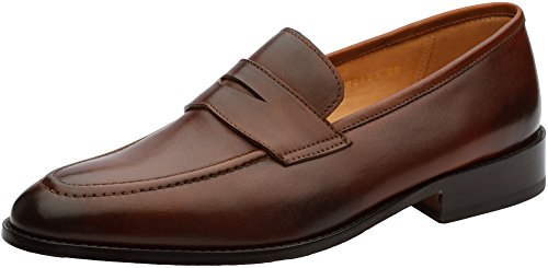3DM Lifestyle Men's Penny Slip-On Leather Lined Loafer