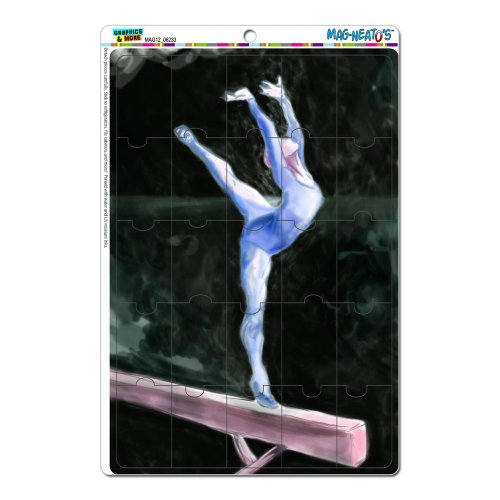 Gymnastics Vault Horse Magnet