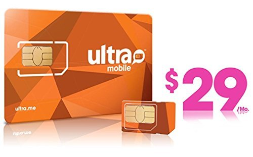 Ultra Mobile triple punch Regular, Micro and Nano all in one SIM Card + $29 Plan free