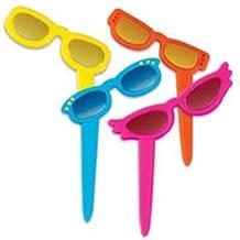 Sunglass Cupcake Toppers
