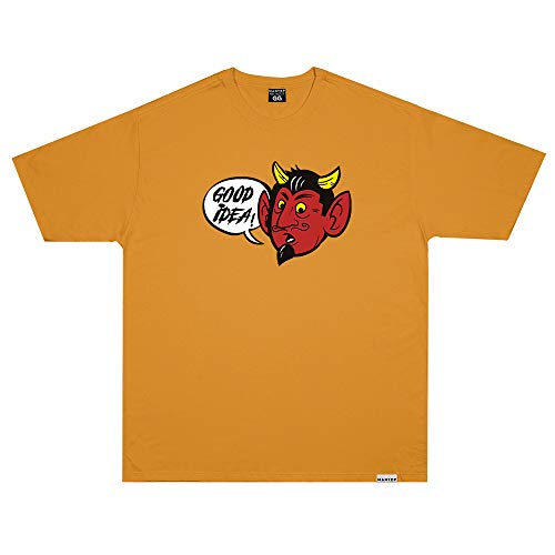 Camiseta Wanted - Good Idea Amarelo Cor:Amarelo;Tamanho:M